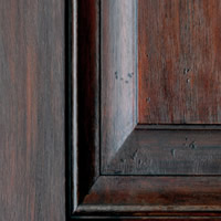 Reclaimed Mahogany - Crimson