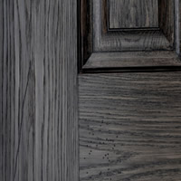 Rustic White Oak - Ebony