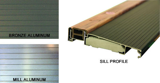 Fiberglass Aluminum sill Options
