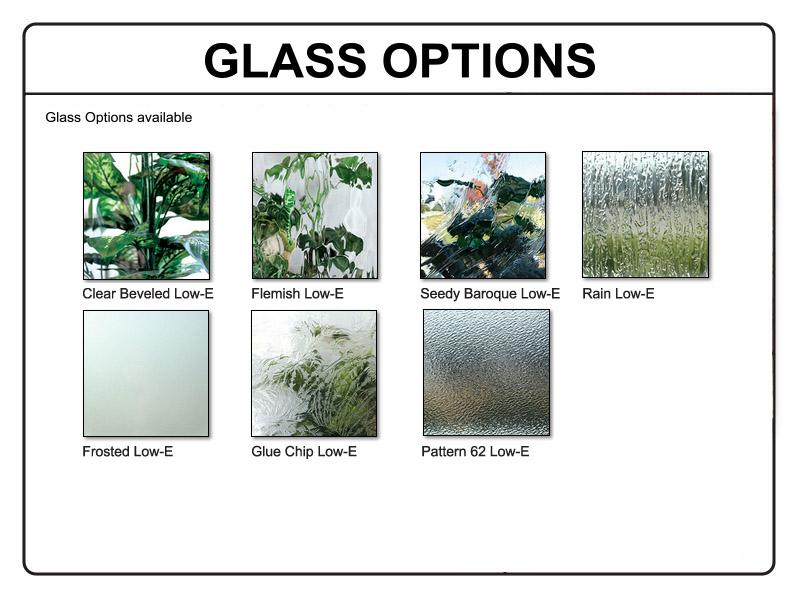 Dsa doors breezeport tdl 6lt e 01r breezeport 6 lite tdl for Privacy glass options