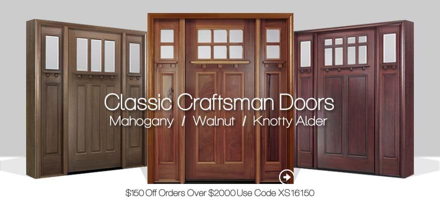 Craftsman Style Entry Doors