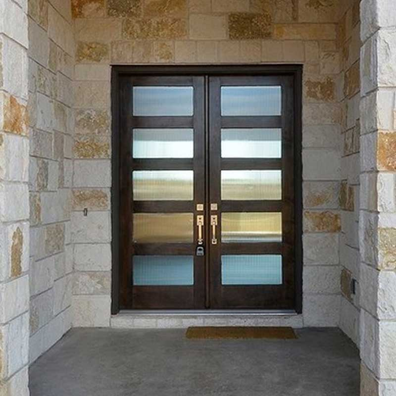 Doors gallery for Residential front doors with glass