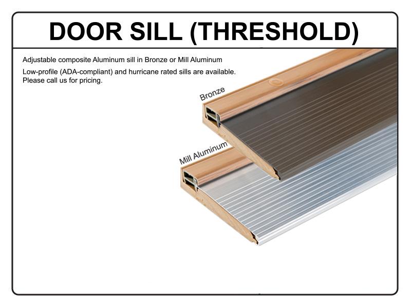 Define door door silo dtl foto - Adjustable exterior door threshold ...