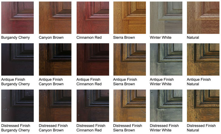 Mahogany Wood Stain Colors ~ Glasscraft plank barn door knotty alder at