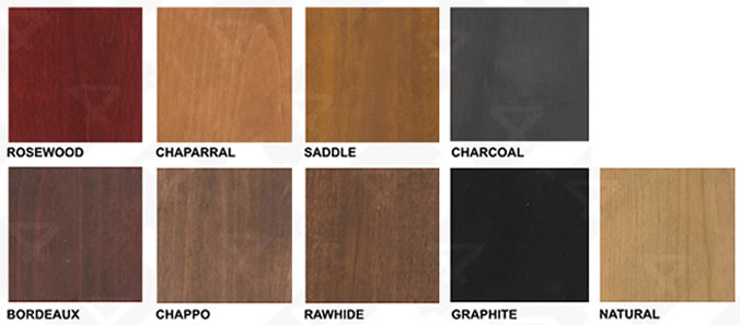 MAI Doors Knotty Alder Stain Colors