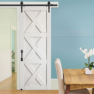Model: MDF Triple X Barn Door