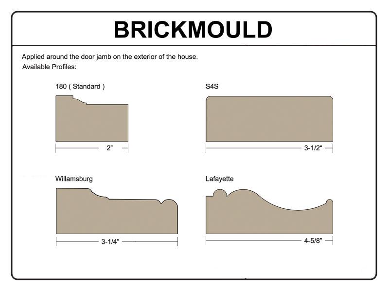 Exterior Brickmould [ Help ]