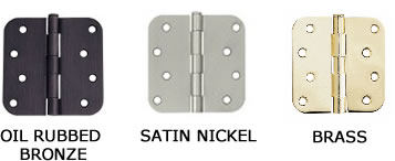 Escon Doors Hinge Options