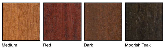 Escon Doors Wood Color Chart