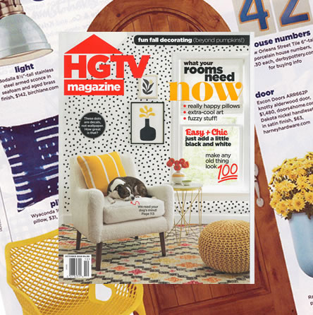 HGTV Magazine, October 2019