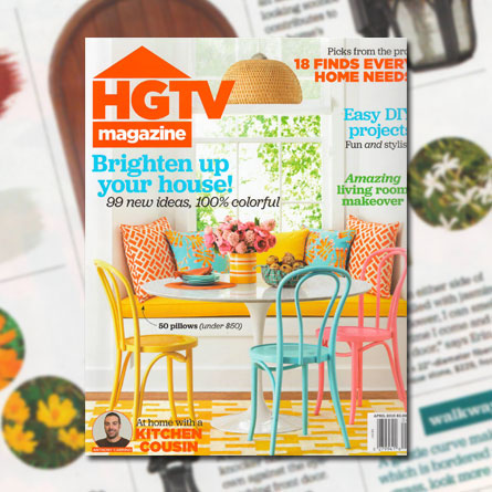 HGTV Magazine, January/February 2015