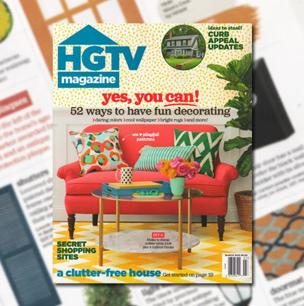 HGTV Magazine, March 2016