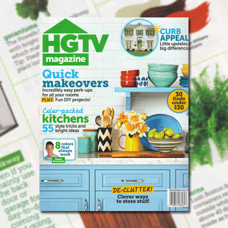 HGTV Magazine, September 2012
