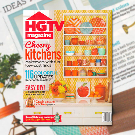 HGTV Magazine, September 2014
